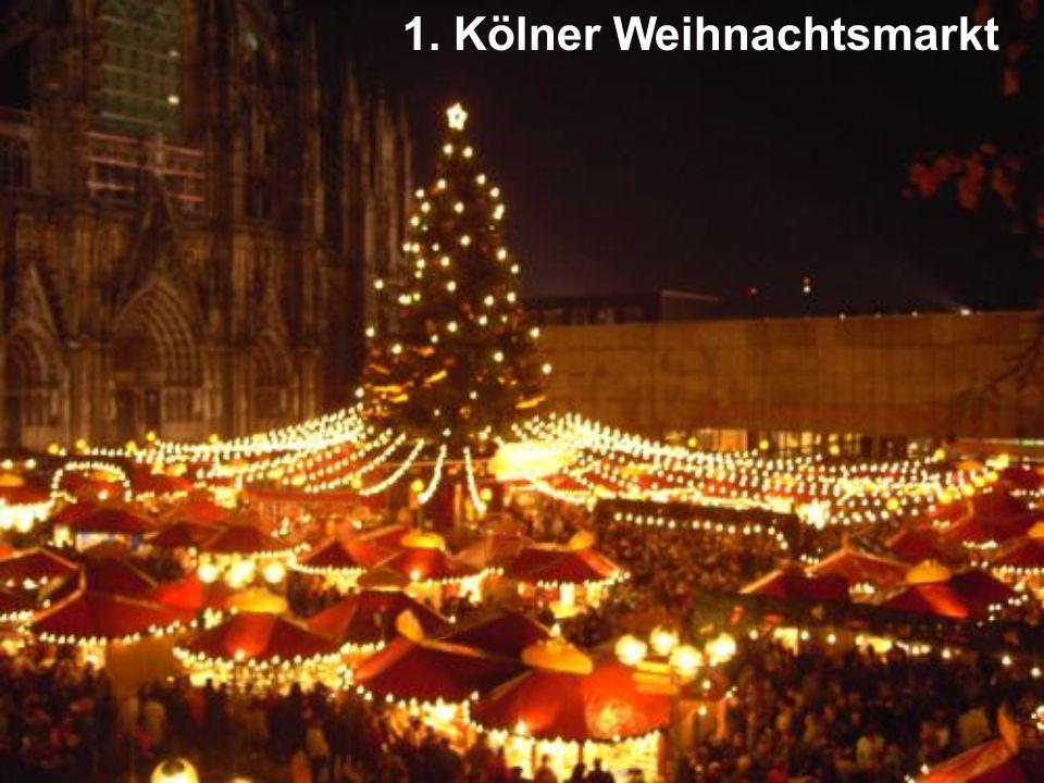 1. Kölner Weihnachtsmarkt