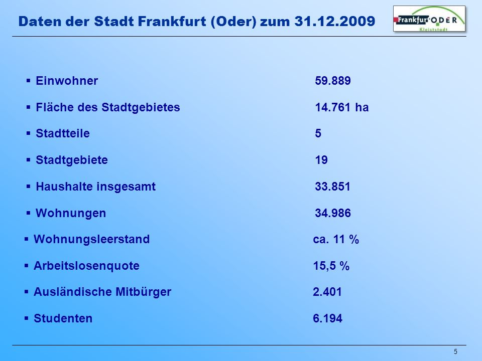 36 Aufwertung der Stadtteile : Neugestaltung der Oderpromenade im Zentrum Stadtumbau in Frankfurt (Oder) seit 2000