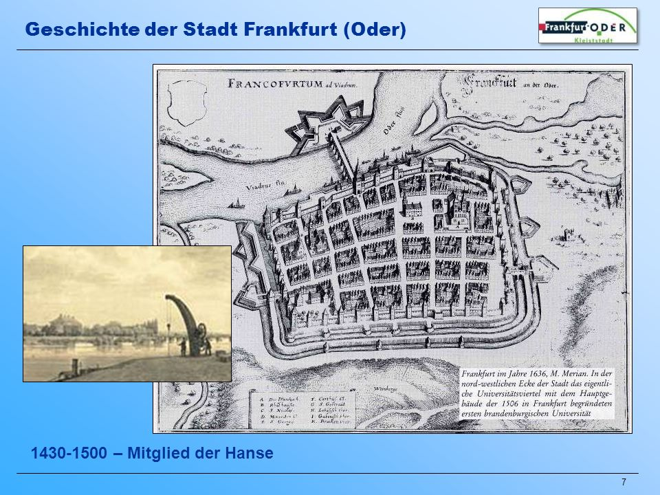 48 Das heutige Stadtzentrum Weitere Impressionen aus Frankfurt (Oder)