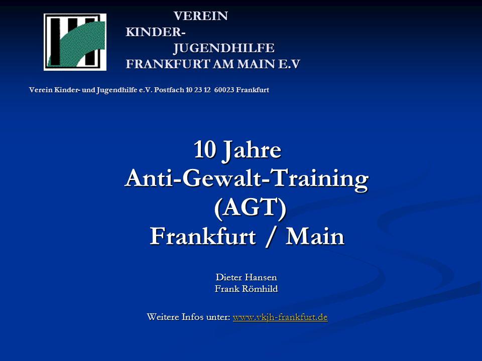 VEREIN KINDER- JUGENDHILFE FRANKFURT AM MAIN E.V Verein Kinder- und Jugendhilfe e.V.