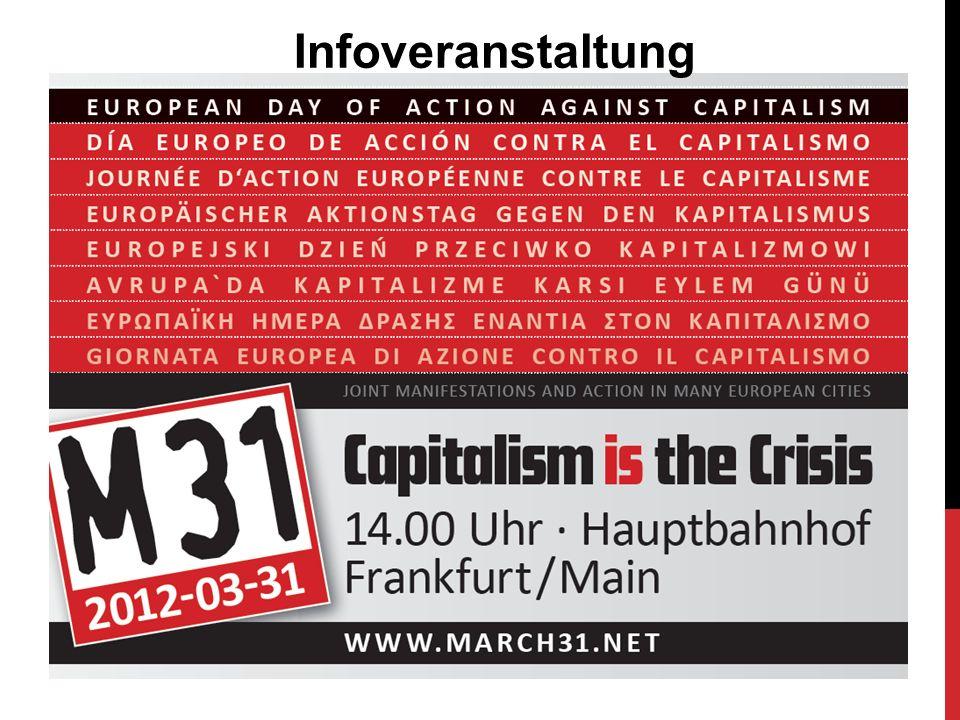 Inhalt Ausgangssituation M31-Geschichte Gemeinsame Ziele von M31 Mobilisierung International M31 in Frankfurt Bundesweite Mobilisierung Was könnt ihr tun?