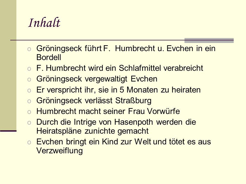 Textauszug zur Werkthematik o Evchen: Es wird ja so schon dunkel- (Frau Marthan vollends ab.)- mir vor den Augen.