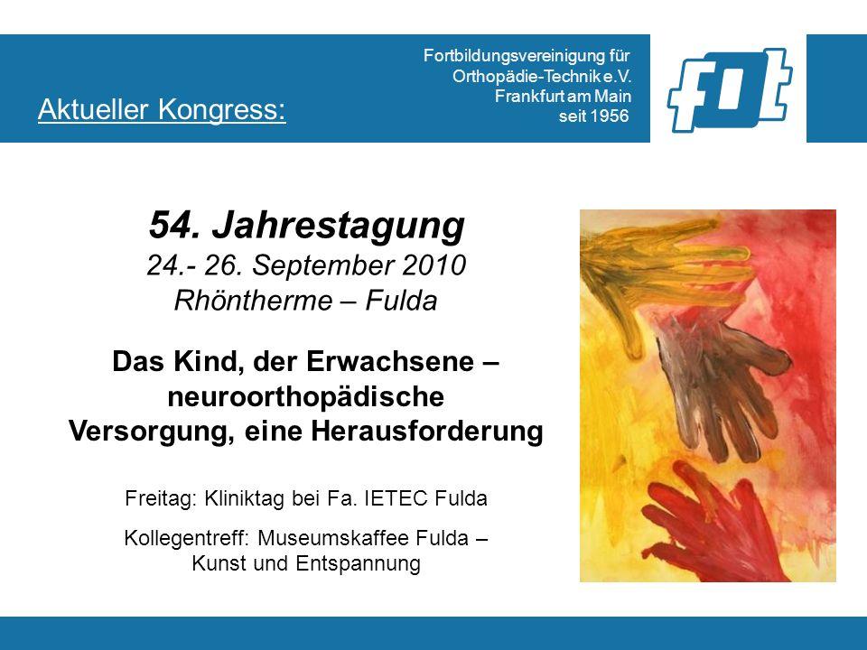Fortbildungsvereinigung für Orthopädie-Technik e.V.