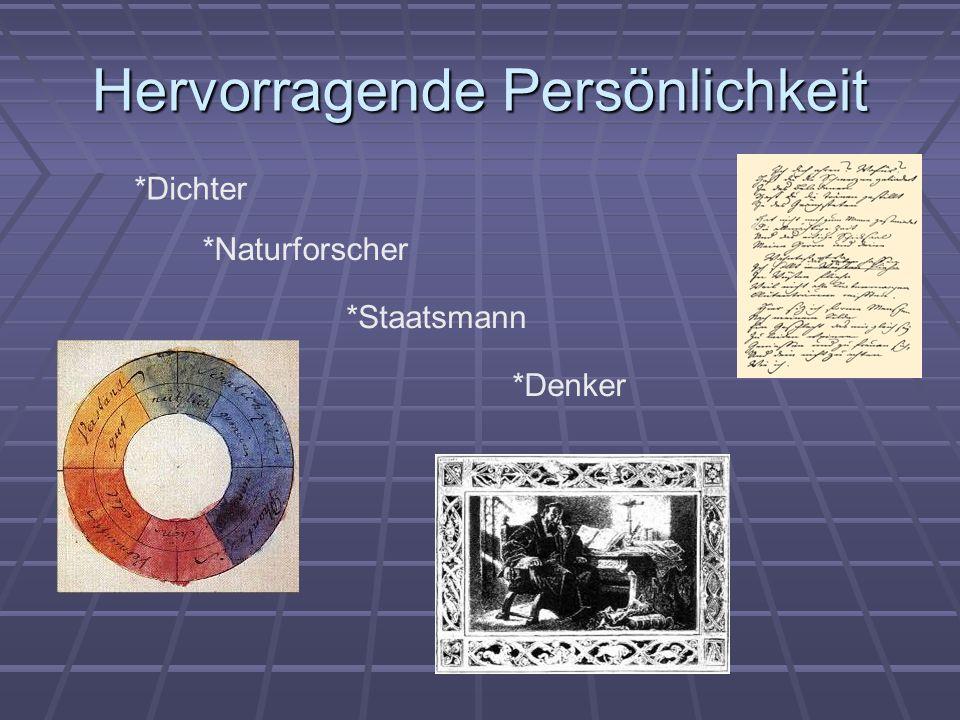 Johann Wolfgang von Goethe wurde am 28. August 1749 in Frankfurt am Main geboren.