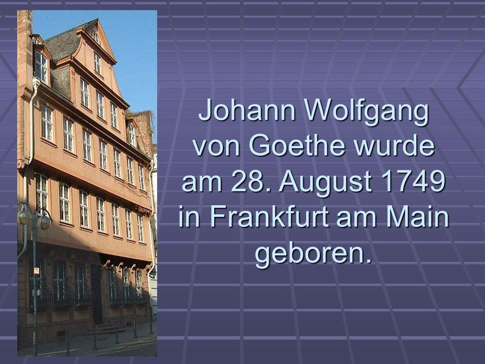 Goethe schrieb viele Werke.Goethe schrieb viele Werke.