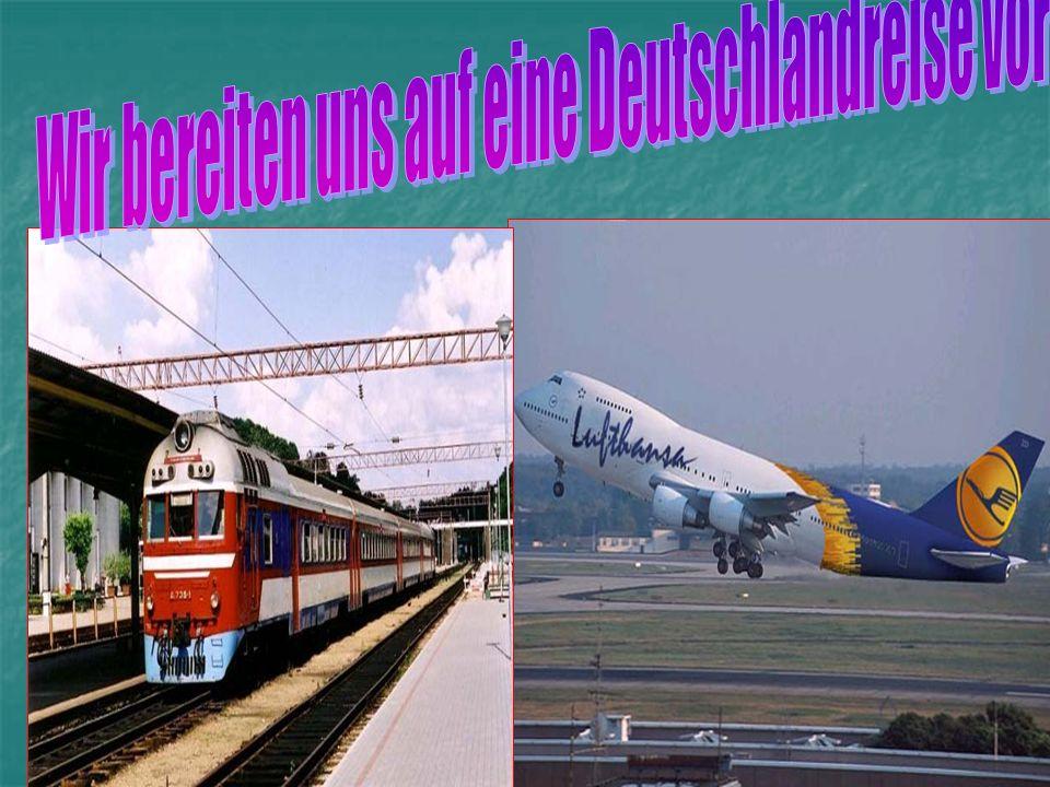 Mit dem Zug Mit dem Zug Mit dem Schiff Mit dem Schiff Mit dem Flugzeug Mit dem Flugzeug Mit dem Auto Mit dem Auto Mit dem Bus Mit dem Bus