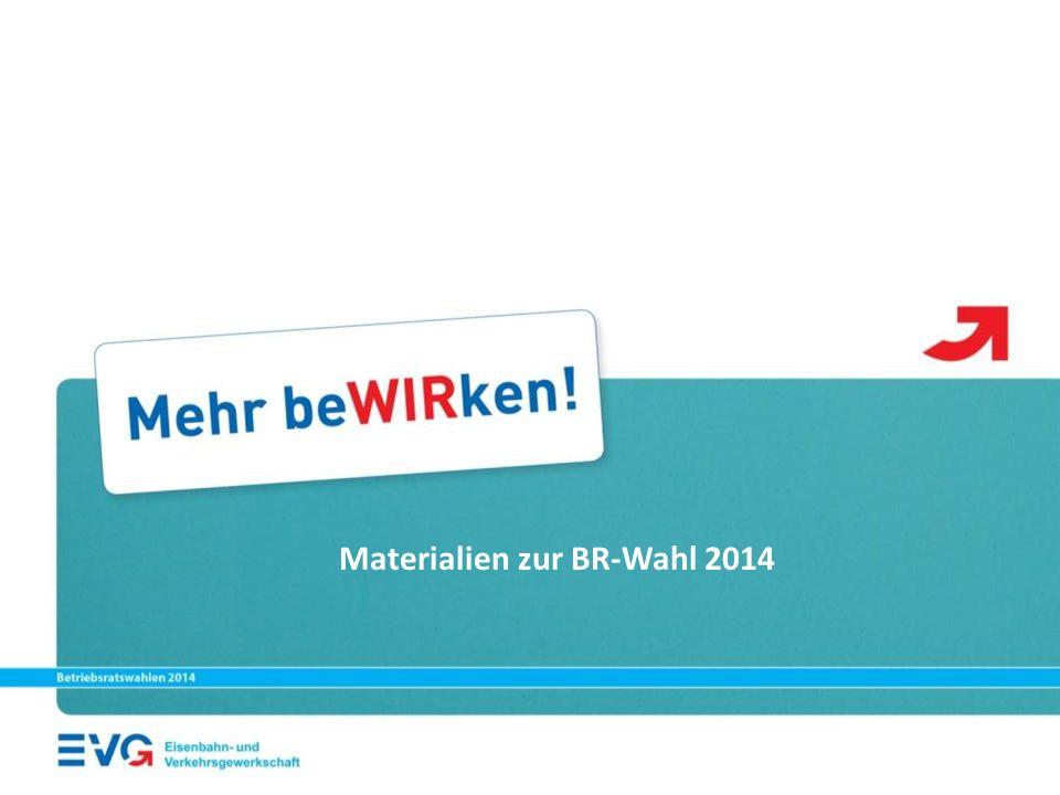 Materialien zur BR-Wahl 2014