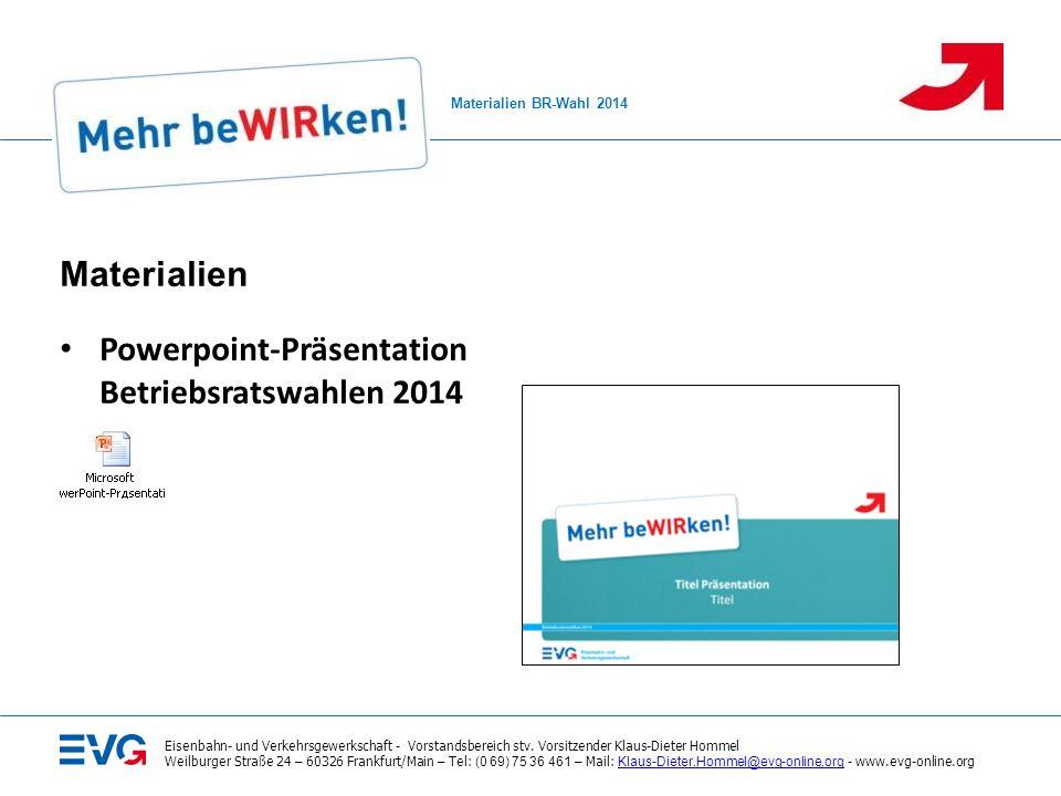 Eisenbahn- und Verkehrsgewerkschaft - Vorstandsbereich stv.