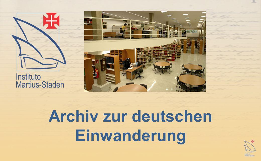 Archiv zur deutschen Einwanderung