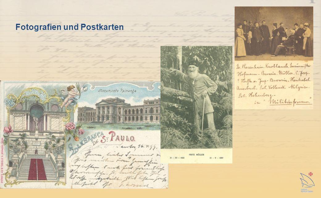 Fotografien und Postkarten