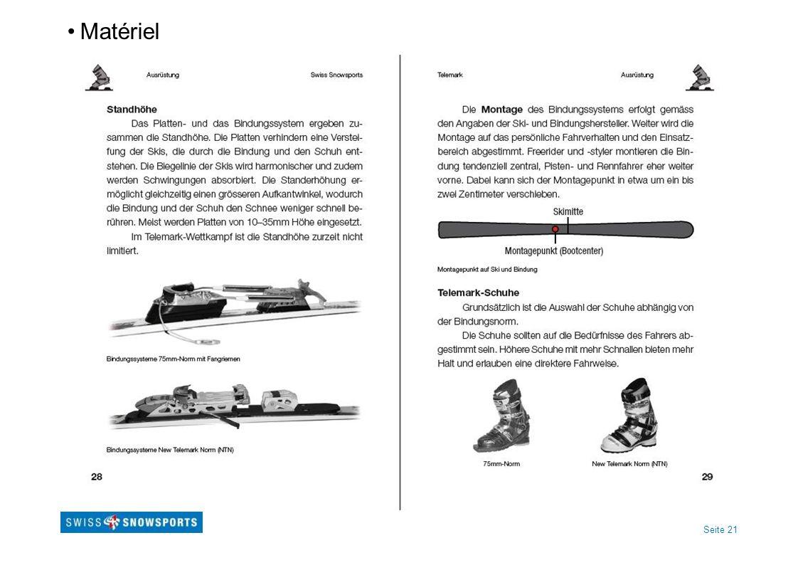 Seite 21 Matériel