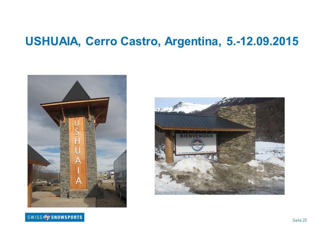 Seite 25 USHUAIA, Cerro Castro, Argentina, 5.-12.09.2015