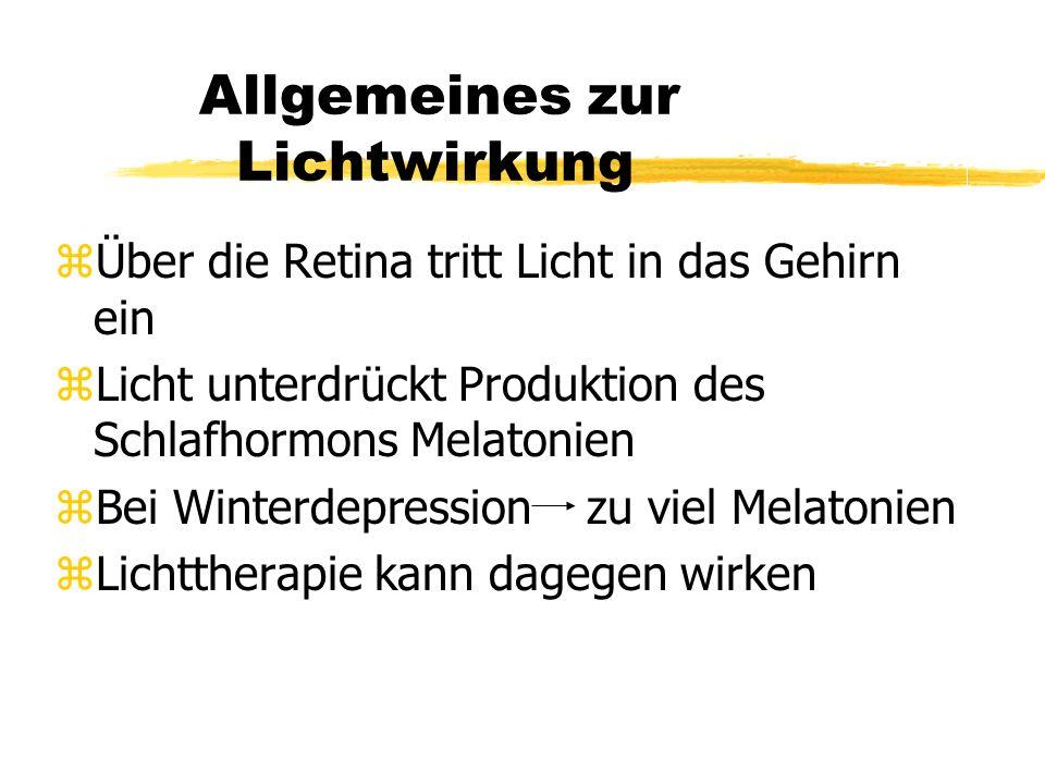 LICHTTHERAPIE Von: Iris Schlaffer