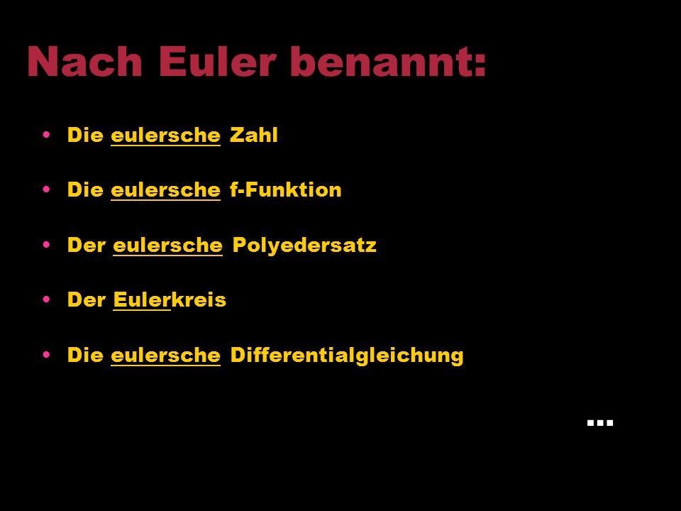 Eulerweg: …ist dann gegeben wenn statt eines Zyklus lediglich ein Weg verlangt wird, der jede Kante des Graphen genau einmal enthält. Einen Graph der