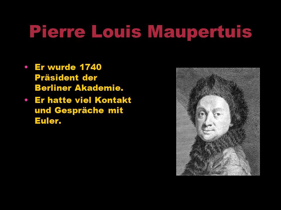 Neubeginn in Preußen Friedrich II. Einladung durch Friedrich II nach Berlin - Aufbau der Akademie der Wissenschaft