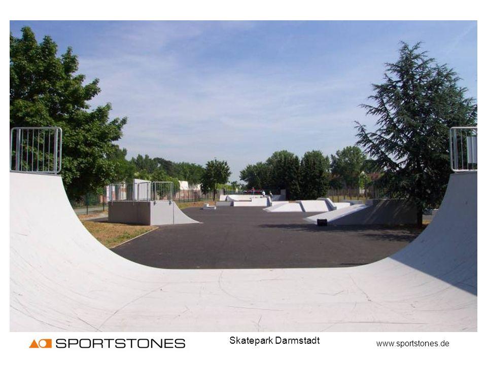 Skatepark Darmstadt www.sportstones.de
