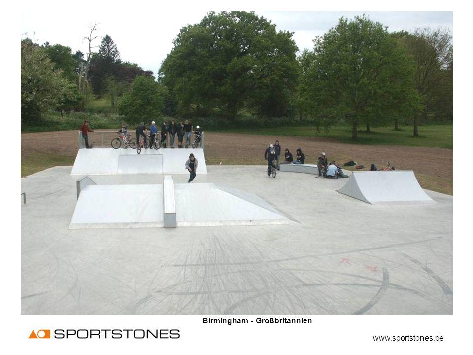 Birmingham - Großbritannien www.sportstones.de