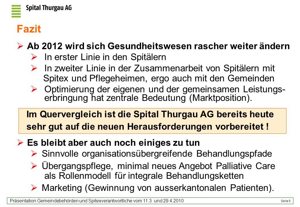 Seite 6 Präsentation Gemeindebehörden und Spitexverantwortliche vom 11.3.