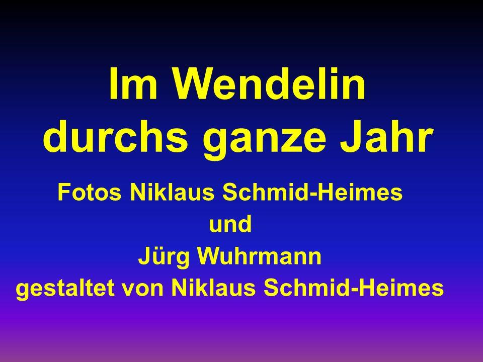 Im Wendelin durchs ganze Jahr Fotos Niklaus Schmid-Heimes und Jürg Wuhrmann gestaltet von Niklaus Schmid-Heimes