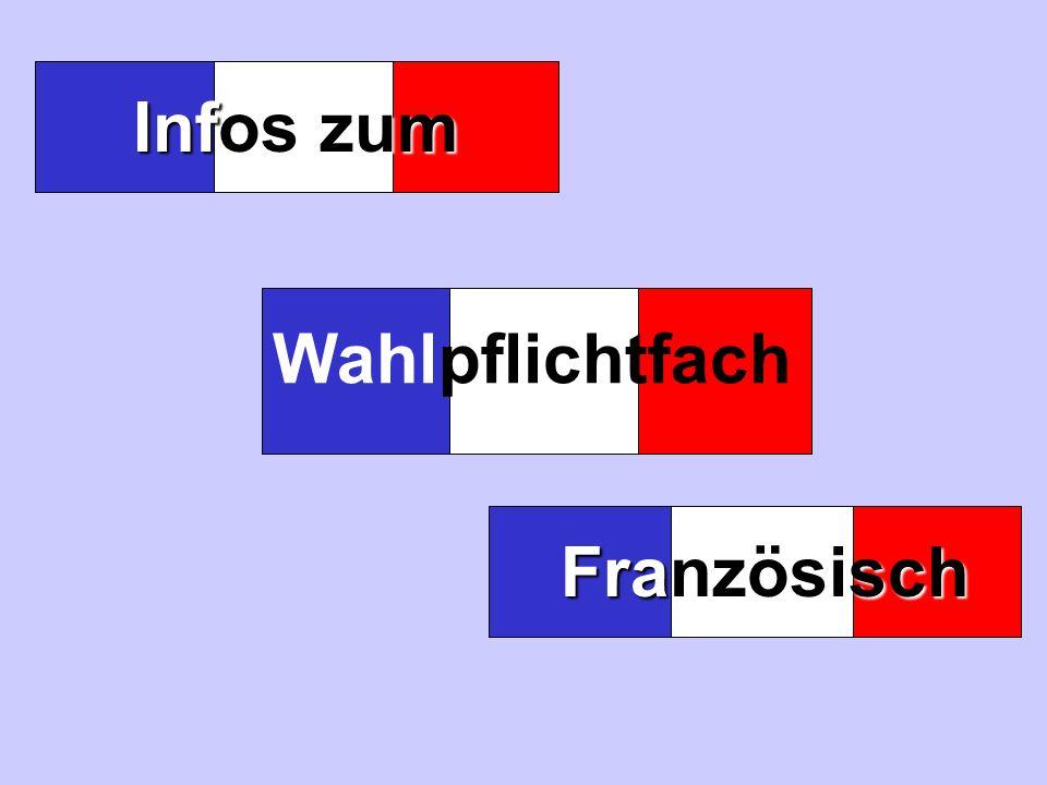 Französisch Infos zum Wahlpflichtfach