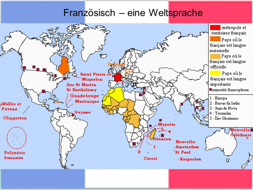 Französisch – eine Weltsprache