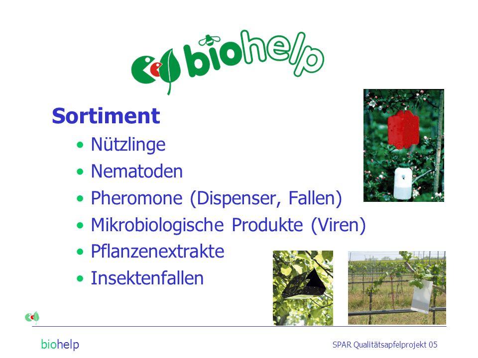 biohelp SPAR Qualitätsapfelprojekt 05 Weitere Auskünfte sowie Bild- und Grafik-Anforderungen bei: Firma biohelp GmbH Kapleigasse 16, 1110 Wien, Austria Tel.: (+43 1) 769 97 69-0 Fax: (+43 1) 769 97 69-16 E-Mail: office@biohelp.at office@biohelp.at www.biohelp.at