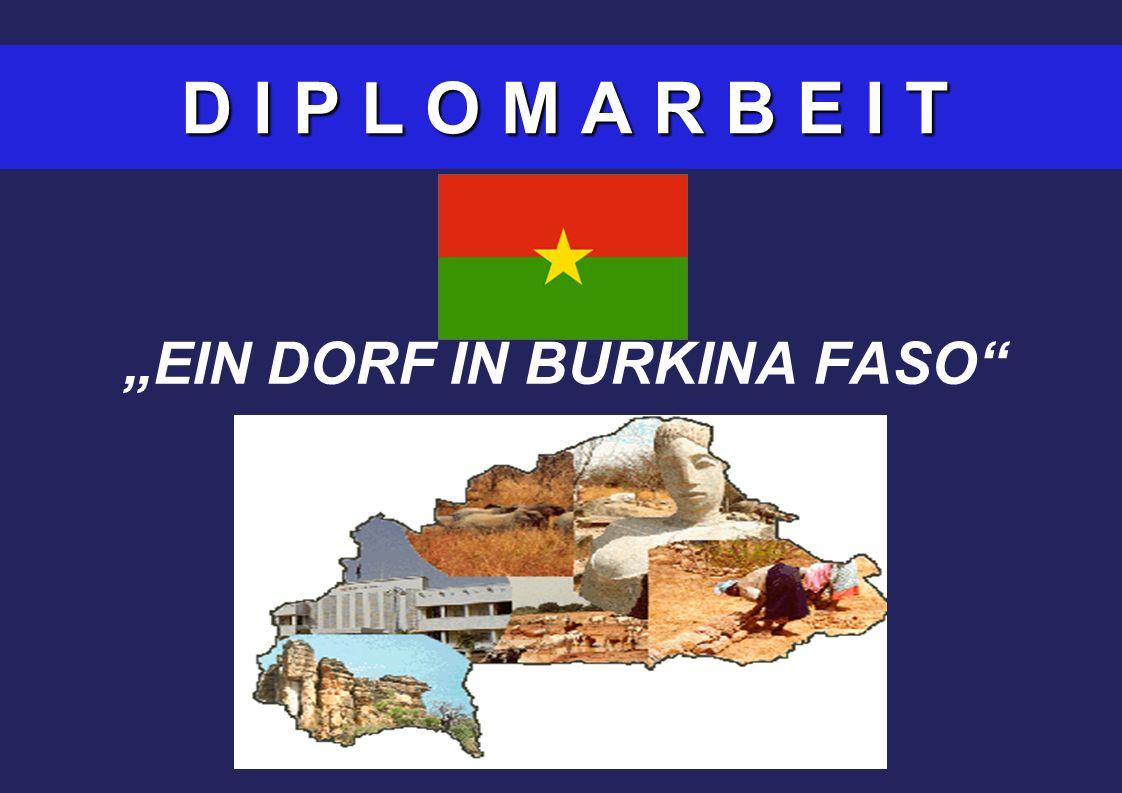D I P L O M A R B E I T EIN DORF IN BURKINA FASO