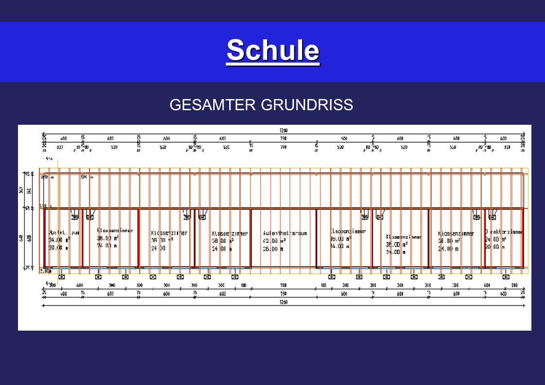 Schule GESAMTER GRUNDRISS