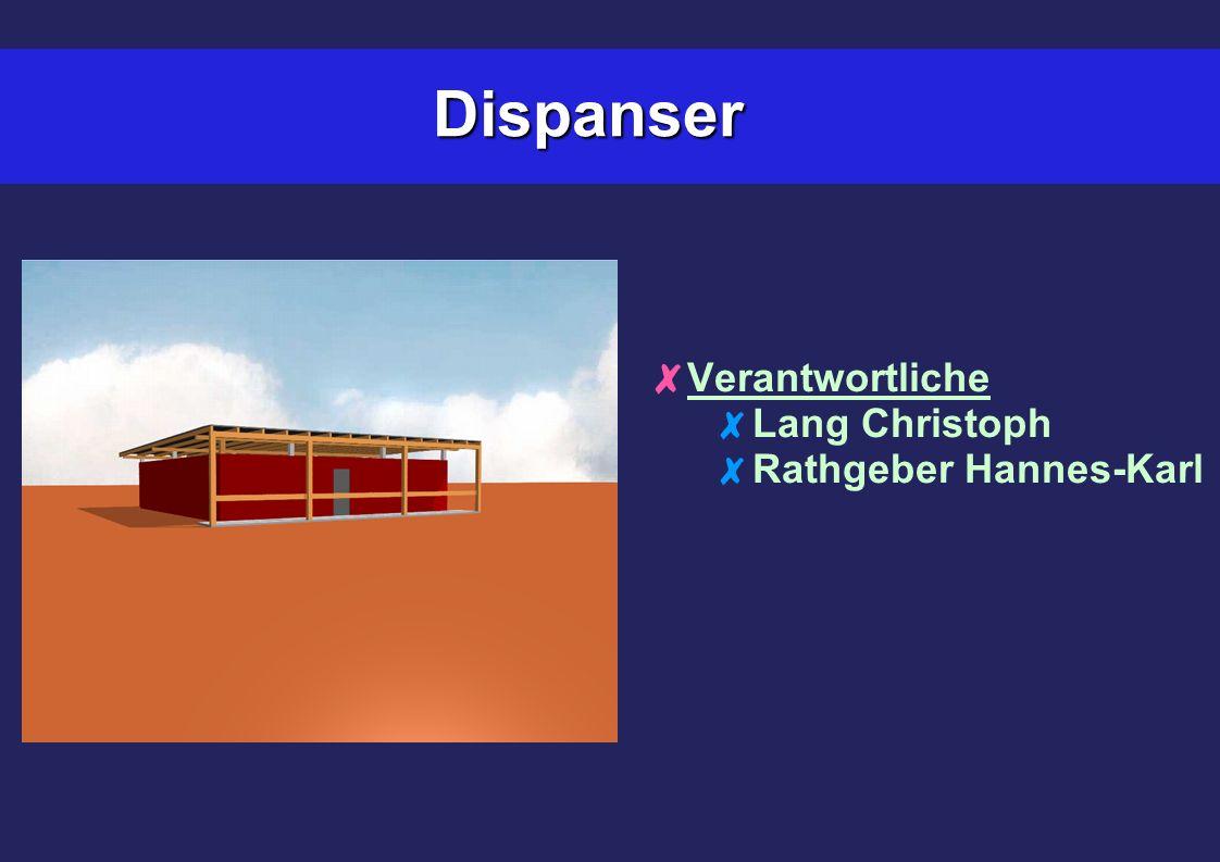 Dispanser Verantwortliche Lang Christoph Rathgeber Hannes-Karl