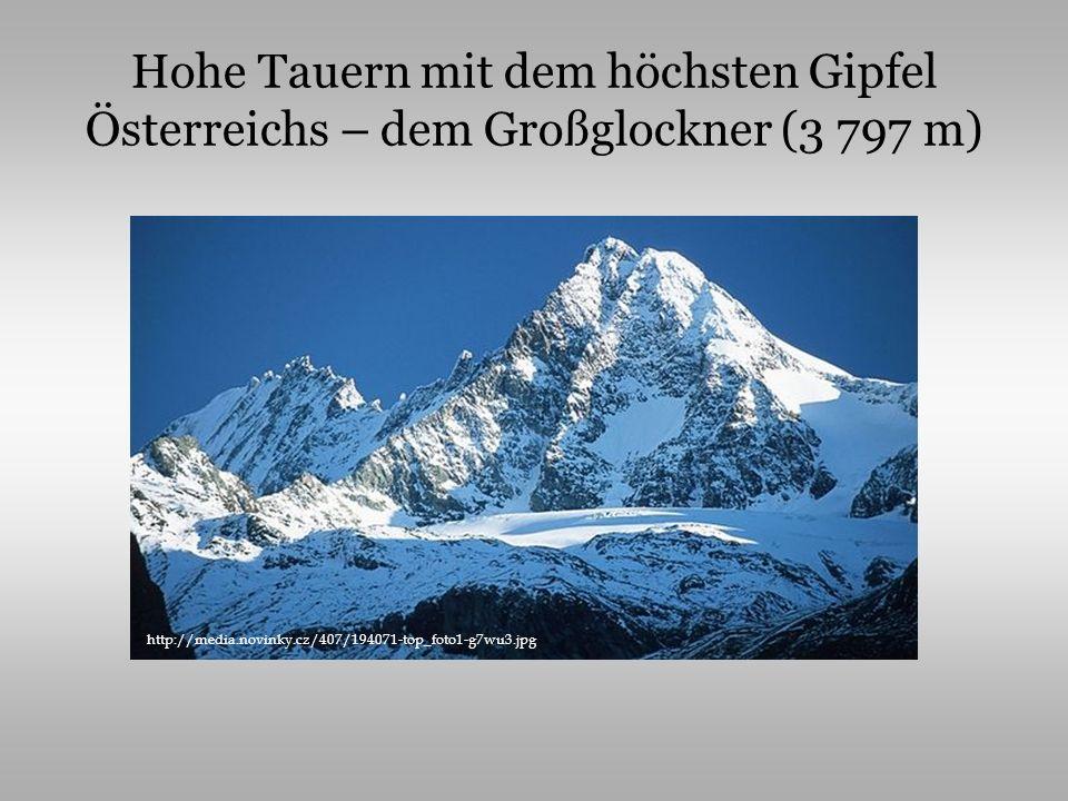 Österreich zählt 8,1 Mio.Einwohner die Amtssprache ist Deutsch in Ö.