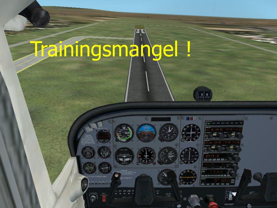 Trainingsmangel !