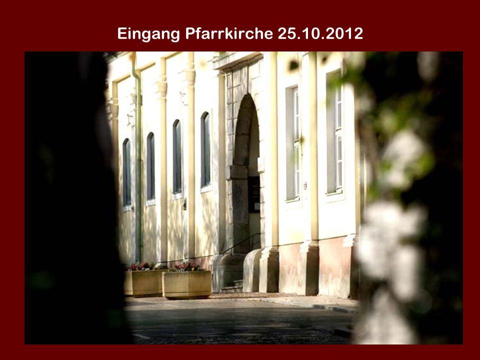 Gedenkstein Alois Tragfeit 25.10.2012