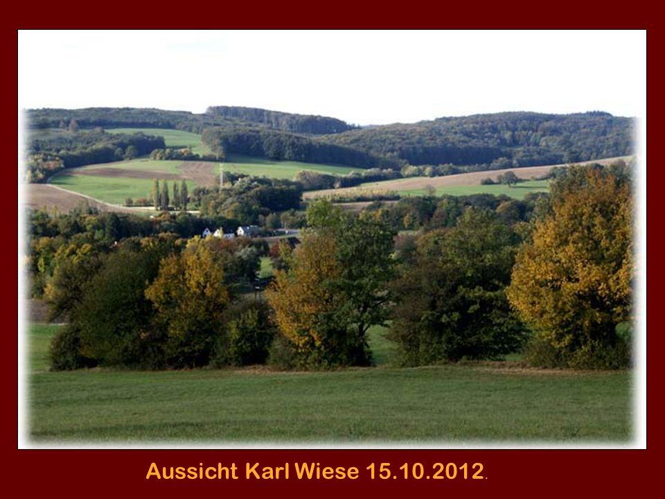 Wallbergerhütte am Roppersberg 23.10.2012
