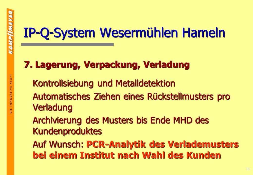 16 IP-Q-System Wesermühlen Hameln 7.