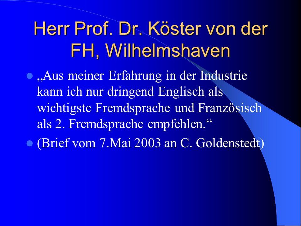 Herr Prof. Dr.