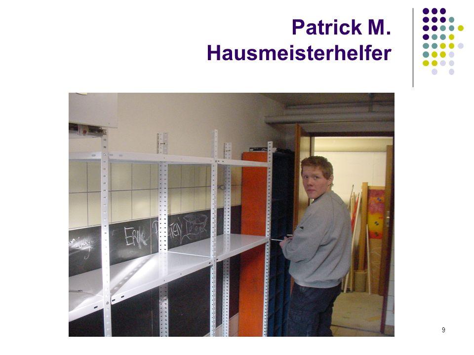 winfried monz, graf von galen-schule heidelberg9 Patrick M. Hausmeisterhelfer