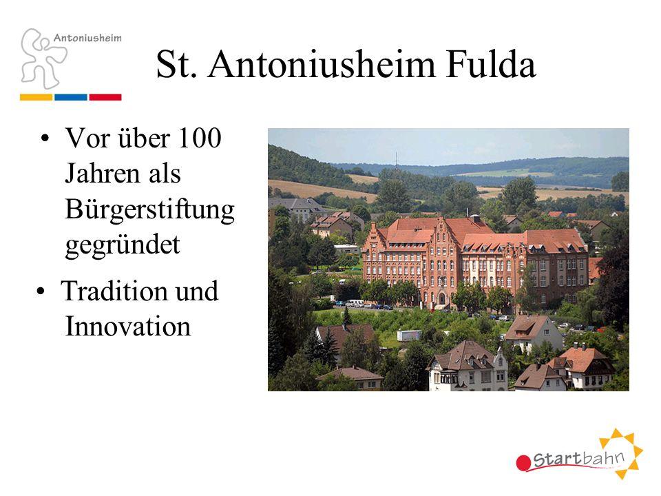 Vor über 100 Jahren als Bürgerstiftung gegründet St. Antoniusheim Fulda Tradition und Innovation