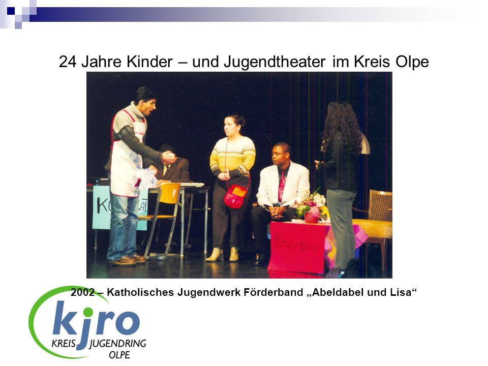 24 Jahre Kinder – und Jugendtheater im Kreis Olpe 2006 – Gemeinschaftshauptschule Attendorn Linie 23 – Die Busstory