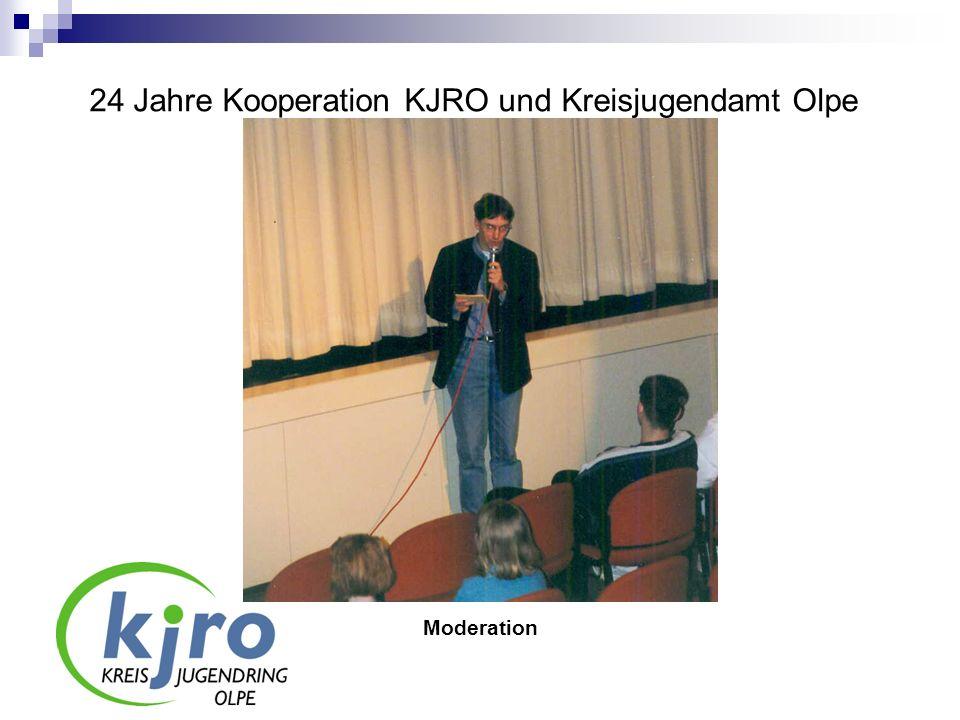 24 Jahre Kooperation KJRO und Kreisjugendamt Olpe Moderation