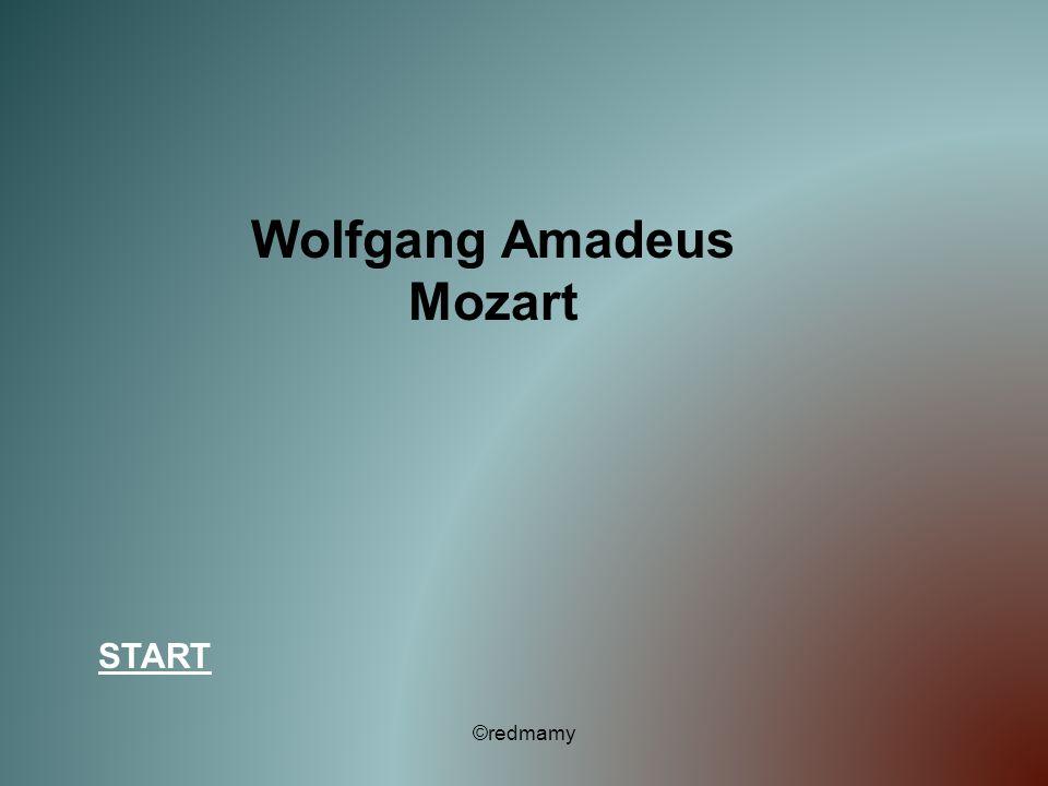 Wolfgang Amadeus Mozart START ©redmamy