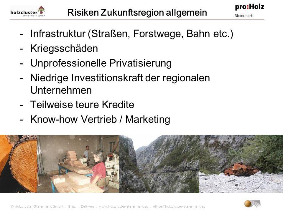 © Holzcluster Steiermark GmbH. Graz. Zeltweg. www.holzcluster-steiermark.at. office@holzcluster-steiermark.at -Infrastruktur (Straßen, Forstwege, Bahn