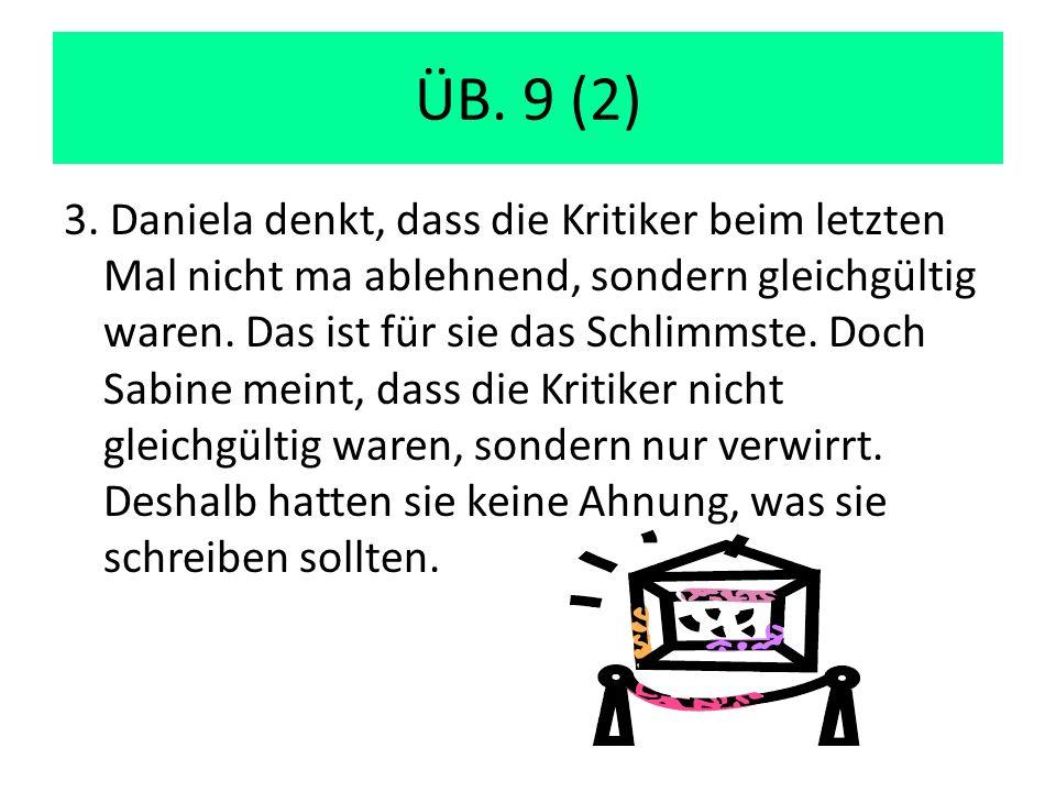 ÜB. 9 (2) 3.