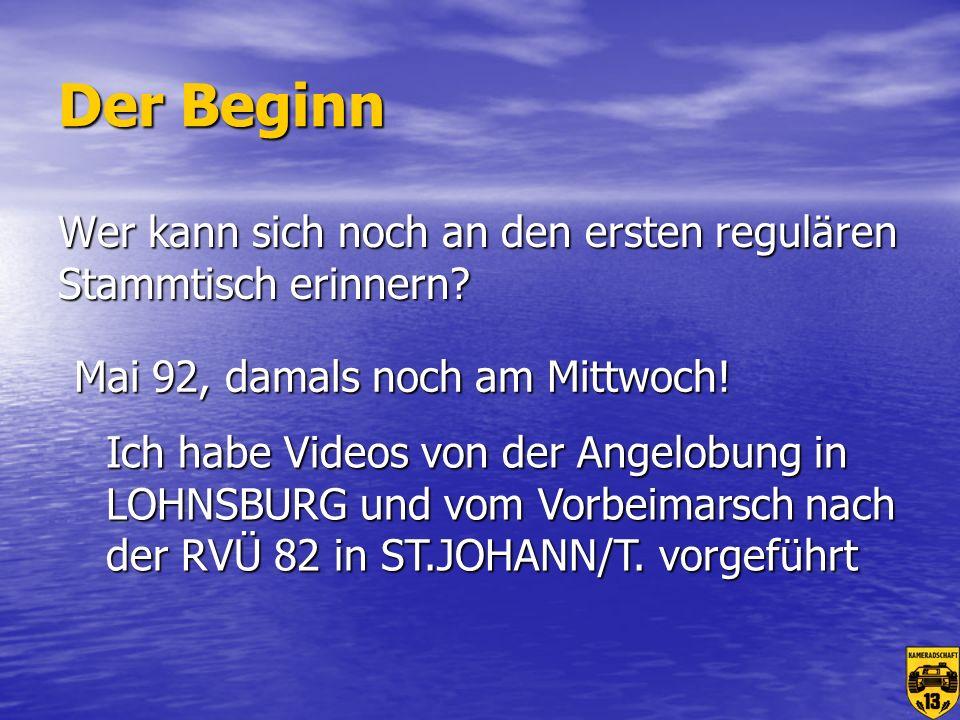Dazu kommen noch ein paar externe Stammtische Vöcklabruck Vöcklabruck Braunau Braunau Gampern Gampern Senftenbach Senftenbach St.Ägidi St.Ägidi Und natürlich jetzt: Und natürlich jetzt: