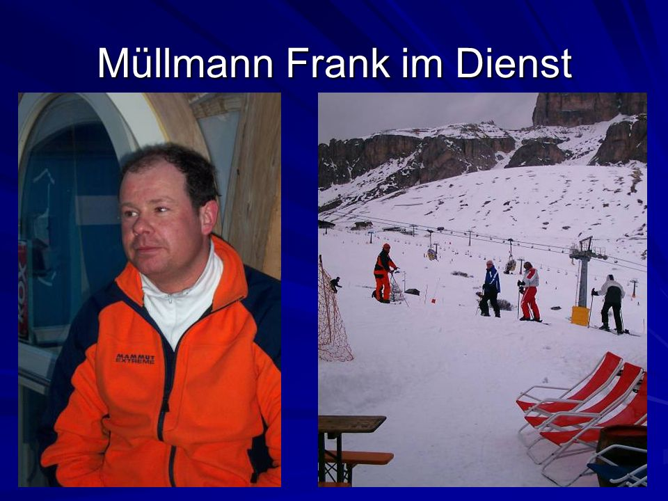 Müllmann Frank im Dienst