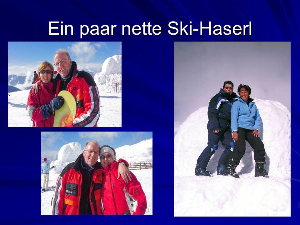 Ein paar nette Ski-Haserl