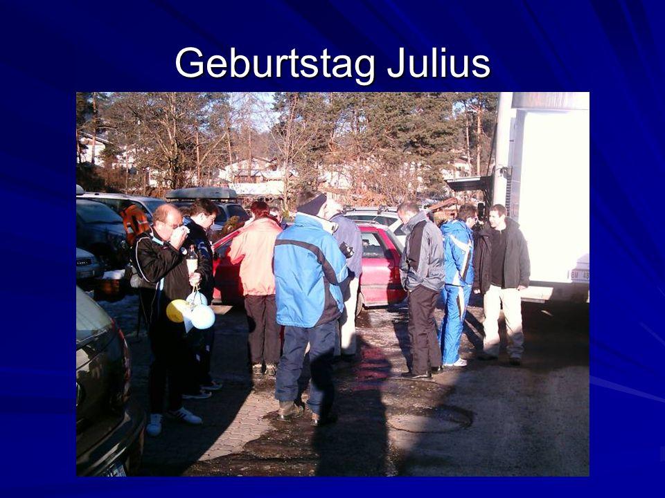 Geburtstag Julius