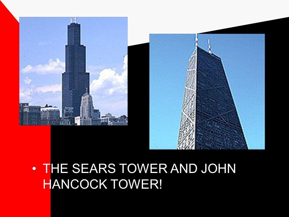 Geb ä ude f ü nf und sechs: Sie sind nicht von Mies gebaut, aber die Architekten waren von Mies beeinflusst Sie sind im Internationalen Stil Sie sind die zwei h ö chsten Geb ä ude in Chicago