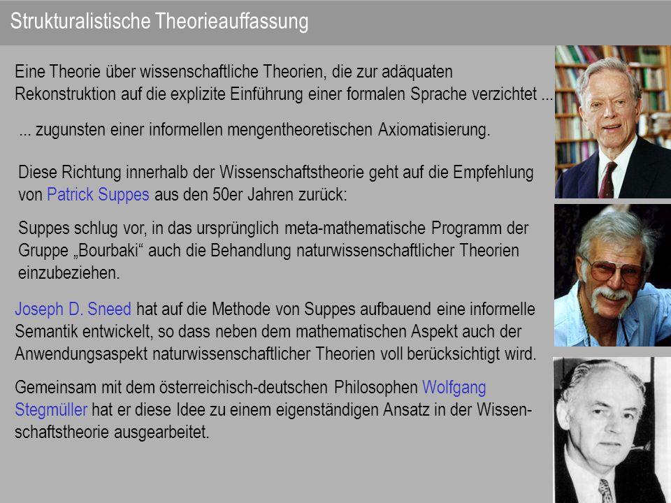 Eine Theorie über wissenschaftliche Theorien, die zur adäquaten Rekonstruktion auf die explizite Einführung einer formalen Sprache verzichtet...... zu