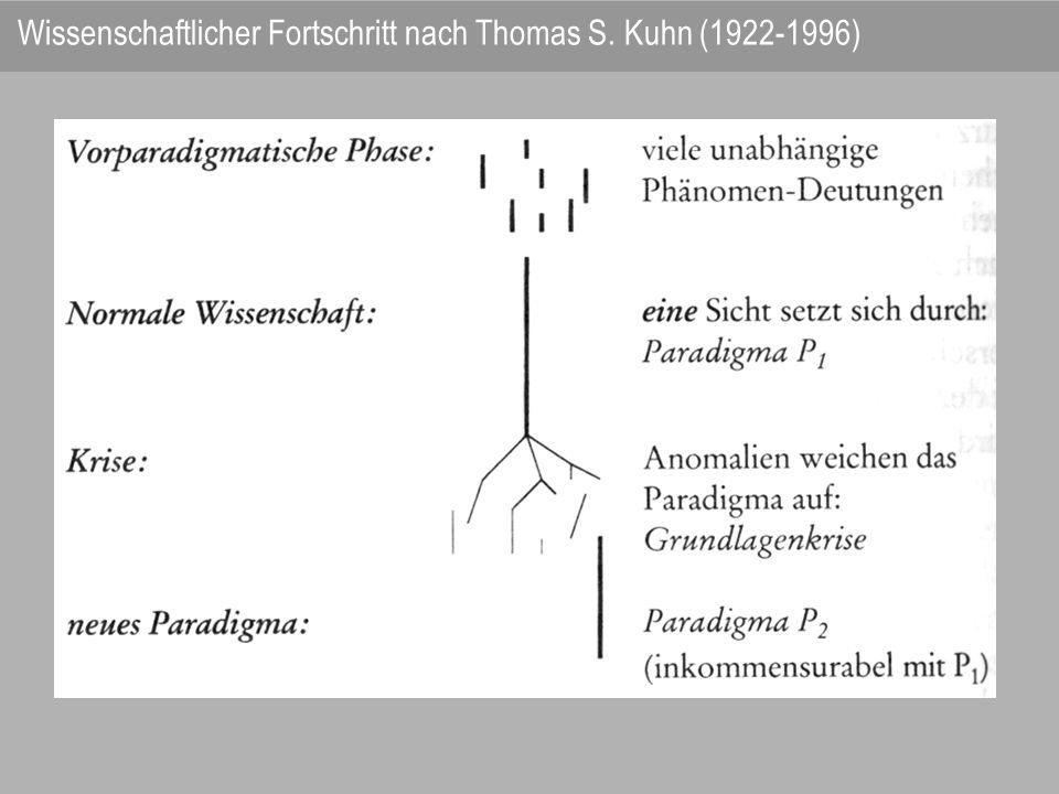Feyerabend kritisiert die Wissenschaft als Ideologie ihrer (unbewussten) Voraussetzungen, welche die soziale Realität strukturieren.