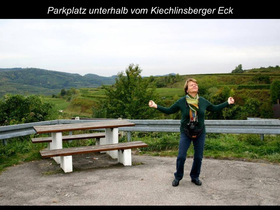 Parkplatz unterhalb vom Kiechlinsberger Eck